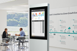 Digital Kiosk Advertis XL Double 42 Portrait Format