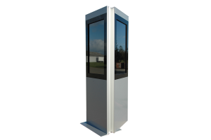Kiosk Stele Advertis XL Duo
