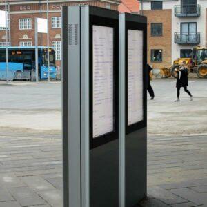 Outdoor-Kiosk-Stele-Advertis-Portrait